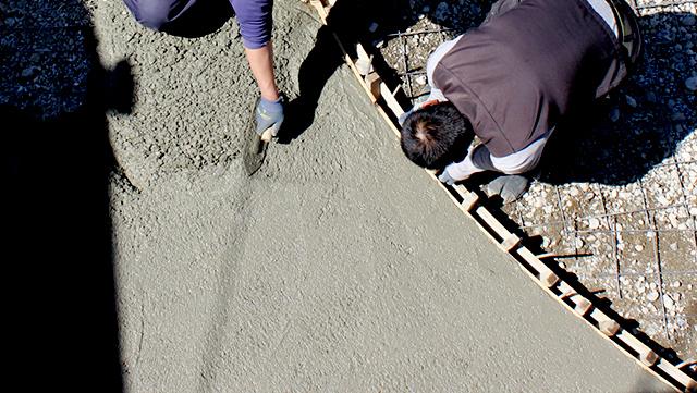 土間工事のイメージ画像